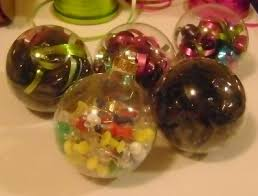 homemade glass ornaments