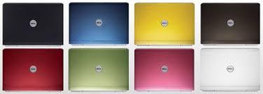 dell coloured laptops