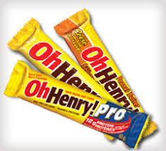 oh henry chocolate bar
