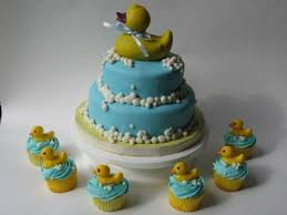 baby shower duck cakes
