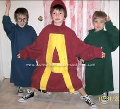 alvin and the chipmunk costumes