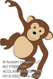 political cartoon chimpanzee