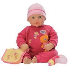 baby talking doll