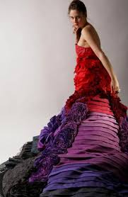 recycled gown