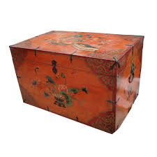 hand painted trunks