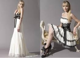 black and white short dresses