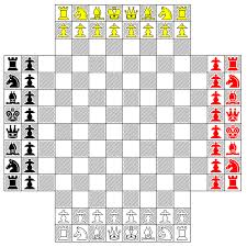 4 player chess board