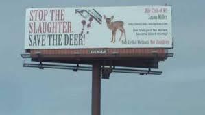 anti deer hunting