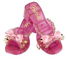 barbie pink shoes