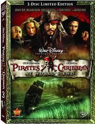 pirates of caribbean dvd