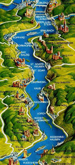 map of rhine
