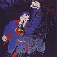superman andy warhol