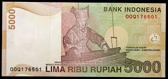5000 rupiah