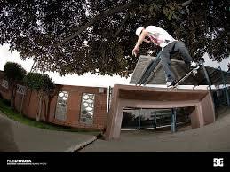 skateboarding wall