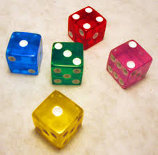 clear dice