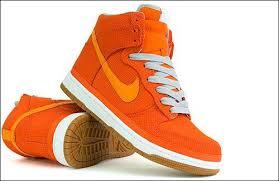 nike dunk high premium orange
