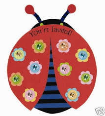 lady bug party supply
