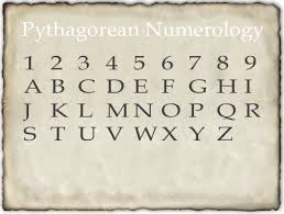 numerology table