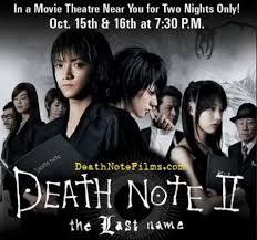 death note cast