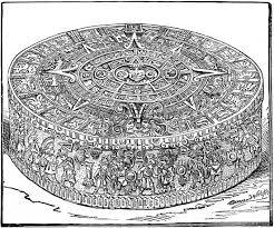 aztec calendar art