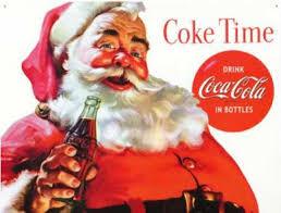 coca cola christmas cards