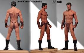 Little John Carter maquette