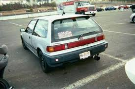 honda civic hatchback 1989