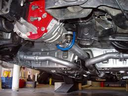 mustang side exit exhaust