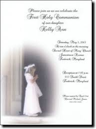holy communion invitations