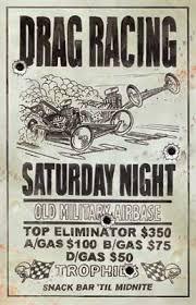 drag racing posters