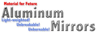 aluminum mirrors