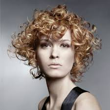short curly perms