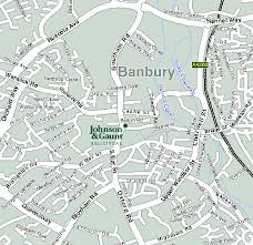 map of banbury
