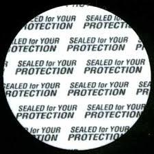 tamper proof seal