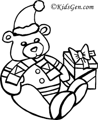 pictures to color for christmas