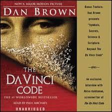 davinci code audio book