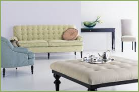 green living room furniture