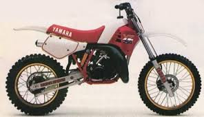 1986 yamaha yz 250