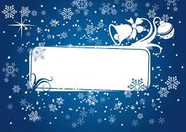 free christmas frame