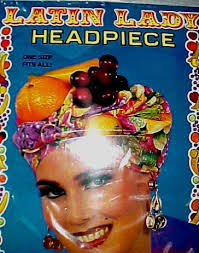 fruit hat lady
