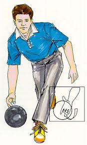 bowling ball hook