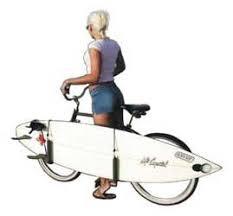 bike surfboard racks