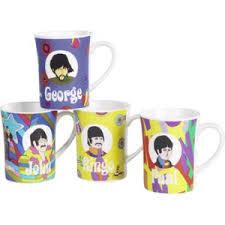 beatles mugs