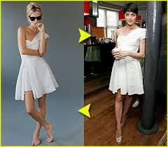 kate moss one shoulder dress