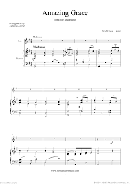 sheet music for the flute