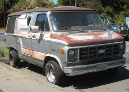 old chevy vans