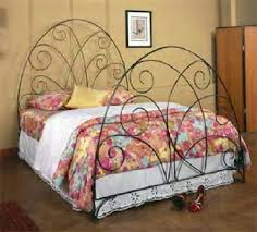 french iron beds