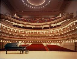 carnegie hall seats