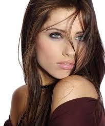 hair colours brunette