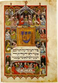 illuminated haggadah